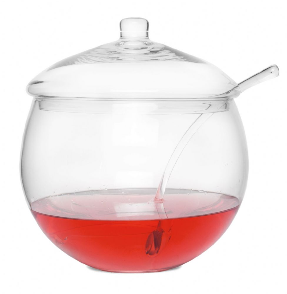 Punch Bowl & Glass Ladle 4.5 L | Solavia Fine Glassware